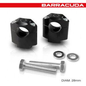 Riser Élévateurs de Guidon [Barracuda] Diamètre 28 MM - Universel Moto - N1017U