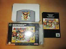 Mario Party 2 Nintendo 64 N64 PAL complete box manual CIB