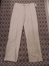 NWT $70 CALLAWAY C-TECH MENS BONE WHITE CLASSIC STYLE # BCSB0242 Pants 34 X 34