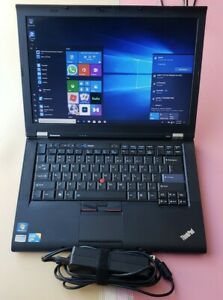 Lenovo thinkpad T410 Core i5 M 540 2.53GHz 4GB RAM 160GB SSD BLUETOOTH 1440X900