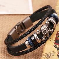 Damen Herren Surferarmband Wickelarmband Leder Armband Unisex-Leather Bracelet