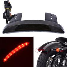 Motorcycle Rear Fender LED Brake Tail Light For Harley Sportster 883 1200 Custom