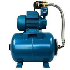 "IBO 1""WZI250 BOOSTER WATER PUMP small electric garden,mains+ 50L pressure VESSEL"