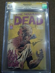 The Walking Dead # 115 CGC 9.9 CC Robert Kirkman & Charlie Adlard