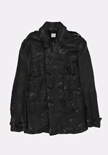 CP Company Men Leather Jacket Coat Size 52