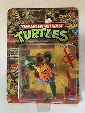 VINTAGE- Teenage Mutant Ninja Turtles - TMNT Playmates MOC Leatherhead 1989