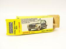 Dinky Toys Spain 1/43 - Boite Vide Originale Simca 1100 Police 1450