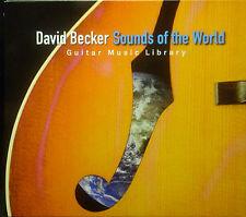 CD DAVID BECKER - sounds of mondo