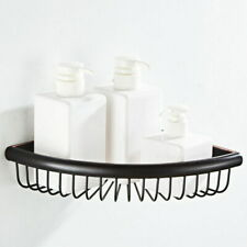 Oil Rubbed Bronze Corner Shower Rack Caddy Bathroom Soap Toiletries Shelf Basket