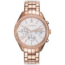 Schwarze Esprit Armbanduhren mit Mineralglas
