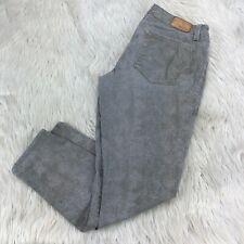 Level 99 Women's 29 Gray Snake Croc Print Legging Jeans Stretch