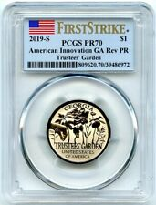 2019-S American Innovation Rev Proof Dollar Georgia PCGS PR-70 First Strike!