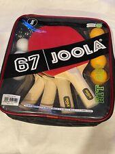 Table Tennis 67 Joola 4-Pack Paddle and 7 Balls Ping Pong Hit Set NEW