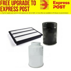 AIR OIL FUEL FILTER SERVICE KIT FOR MITSUBISHI PAJERO 3.2L NS NT NW
