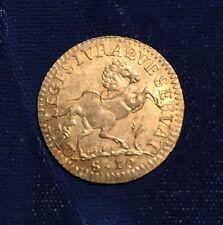 "ITALY /ITALIAN STATES  MANTUA  FERDINANDO CARLO GONZAGA 1703 ""MEZZA LIRA"" COIN"