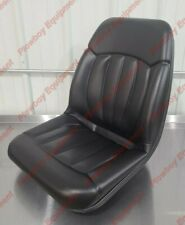 Cs133 1v High Back Seat For Case Ih Bobcat Ford Clark Gehl Melroe New Holland