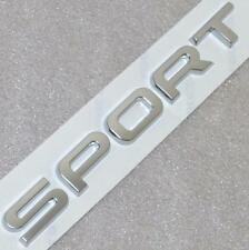 LAND ROVER RANGE ROVER,SPORT,P38 HSE OEM Boot Badge Emblem Letters Silver