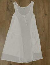 Day Birger Et Mikkelsen Dress S White Vest Trapeze Sleeveless Summer Holiday