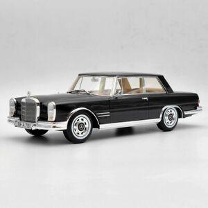 CMF 1:18 Mercedes Benz 600 W100 Nallinger Coupe 1965 CMF18160 Black Resin Models