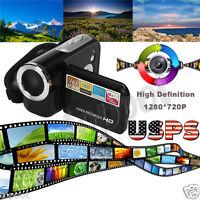 1.5 Inch SD/SDHC Card TFT 16MP 8X Digital Zoom Video Camcorder Camera DV Black