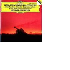 TCHAIKOVSKY 1812 Overture /Capriccio Italien /Hamlet Leonerad Bernstein
