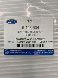 GENUINE FORD FOCUS/C-MAX POLLEN FILTER 5128504 AV6N18D543AA