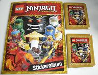 Lego Ninjago Legacy Sticker - Sammelalbum + 25 Tüten - Neu & OVP