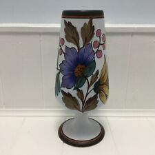 Vintage Dutch Flora Gouda Sylvia Pattern Vase 1842