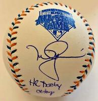 Mark McGwire Signed 1992 All Star Game Baseball w/ HR Derby Champ MLB Hologram
