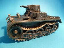 Gama Tank großer Panzer, Uhrwerk, litho ca 1945, original, bespielt selten