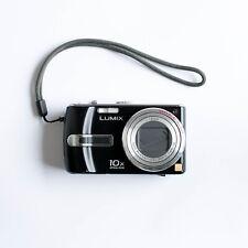 Panasonic Lumix DMC-TZ3 10x Leica 7.2MP SuperZoom Black Digital Camera