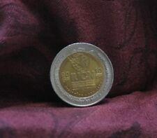 King Bhumibol Adulyadej Thailand 10 Baht 2004 World Coin Rama 9 Thai IUCN Bi met