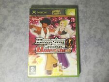 DANCING STAGE UNLEASHED - MICROSOFT XBOX ORIGINALE - PAL ITA ITALIANO - COMPLETO