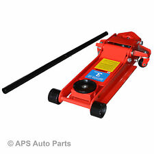3.5 Ton Heavy Duty Low Profile Trolley Jack Garage Ultra Low High Lift Car HGV