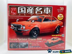 1:24 Domestic famous car collection Toyota Sprinter Torueno 1600 1972 Rare item