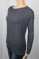 Ralph Lauren Grey Round Neck Angora Sweater NWT