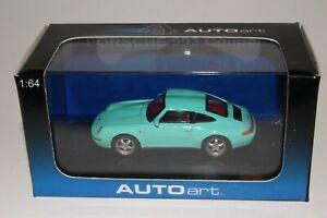 Autoart, Porsche 993 Coupe, 1/64 Scale Boxed