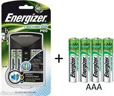Energizer procharger + 4 AA 4 BATTERIE RICARICABILI AAA-AA / AAA Battery Charger