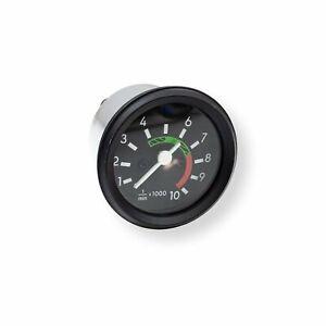 Drehzahlmesser DZM mit Fernlichtkontrolle für Simson S50 S51 mit schwarzem Ring