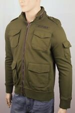 Tommy Hilfiger Olive Green Military Hooded Coat Jacket...