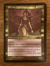 MTG x1 SELENIA, DARK ANGEL 1x Some Play - Tempest Rare (Free Shipping) EDH Magic