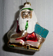 Norman Rockwell Collection For Good Boys / Girls Blown Glass Tree Ornament Coa