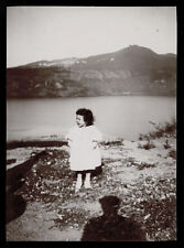 fotografia d'epoca albumina fine '800 BAMBINA-CHILD-KIND-ENFANT 3