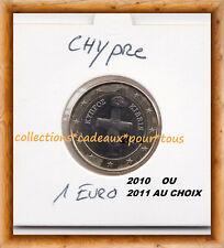 CHYPRE 1 Euro ANNEE 2010 OU 2011 AU CHOIX - Qualité UNC - Sous cache