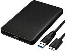 Easyult USB 3.0 Boitier Disque dur Externe 2.5 pouces pour SATA HDD et SSD JC