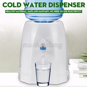 Portable Cold Water Dispenser Top Loading Freestanding Desktop Home Work Office