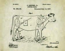 """Duck Goose Deer Elk Hunting Decoy Patent Poster Art Print 11""""x14""""  Calls PAT329"""