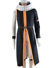 Fairy Tail Natsu Dragneel Halloween Cosplay Costume Outfit Uniform Custom Made