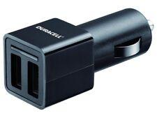 Duracell Dual USB en voiture chargeur pour intelligente Dispositifs Tablettes