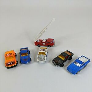 Majorette Vintage Lot of 6 cars vehicles 1970s 1980s Made in France